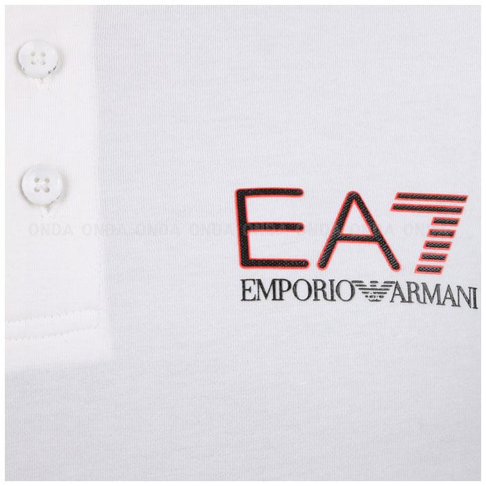 국내배송/EA7 엠포리오알마니 폴로 티셔츠 화이트 3YPF87 PJ03Z