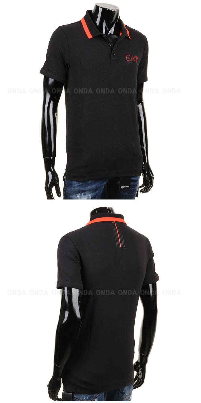 EA7 엠포리오알마니 폴로 티셔츠 블랙 3YPF87 PJ03Z 국내배송
