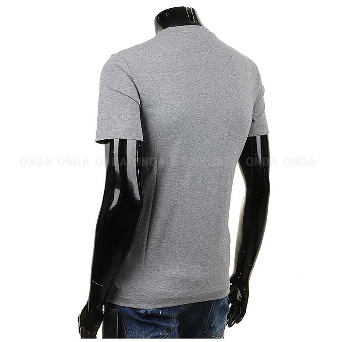 국내/EA7 엠포리오알마니 로고 티셔츠 그레이 3YPTG1 PJ18Z